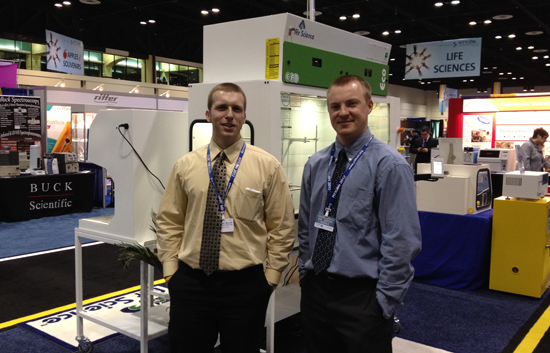 Air Science at Pittcon 2012